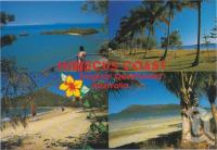 "<span class=""caption-caption"">Hibiscus Coast, a few kilometres north of Mackay, the Hibiscus Coast has numerous beaches and Cape Hillsborough National Park - an ideal spot for a quiet holiday</span>, c1970-2000. <br />Postcard, collection of <span class=""caption-contributor"">Murray Views Collection</span>."