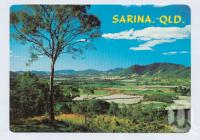 "<span class=""caption-caption"">Overlooking the sugar cane fields from Sarina Range Lookout</span>, c1970-2000. <br />Postcard, collection of <span class=""caption-contributor"">Murray Views Collection</span>."