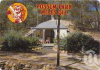 """<span class=""""caption-caption"""">World War II RAAF ammunition bunker, now converted to modern self-contained underground accommodation units, Possum Park, Miles</span>, c1970-2000. <br />Postcard, collection of <span class=""""caption-contributor"""">Murray Views Collection</span>."""