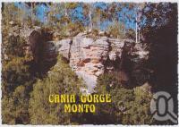 "<span class=""caption-caption"">Queensland has a number of unusual geological formations and one of the most spectacular is the Cania Gorge situated 25 kilometres from Monto</span>, c1970-2000. <br />Postcard, collection of <span class=""caption-contributor"">Murray Views Collection</span>."