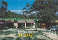 "<span class=""caption-caption"">Restaurant, post office and shop, Mt Nebo</span>, c1970-2000. <br />Postcard, collection of <span class=""caption-contributor"">Murray Views Collection</span>."