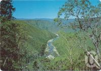 "<span class=""caption-caption"">Herbert River Gorge, Kirrama Range, Mt Garnet District</span>, c1970-2000. <br />Postcard, collection of <span class=""caption-contributor"">Murray Views Collection</span>."