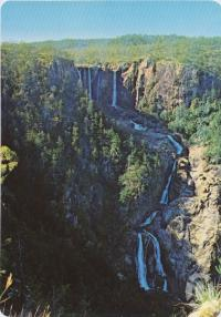 "<span class=""caption-caption"">Belencoe Falls, Kirrama Range, Mt Garnet District</span>, c1970-2000. <br />Postcard, collection of <span class=""caption-contributor"">Murray Views Collection</span>."