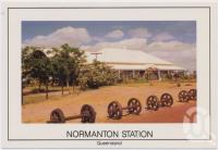 "<span class=""caption-caption"">Normanton Station, Normanton</span>, c1970-2000. <br />Postcard, collection of <span class=""caption-contributor"">Murray Views Collection</span>."