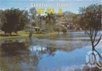 "<span class=""caption-caption"">Reflections on Lake Moondarra, Mt Isa</span>, c1970-2000. <br />Postcard, collection of <span class=""caption-contributor"">Murray Views Collection</span>."