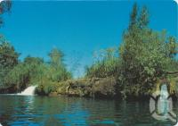 "<span class=""caption-caption"">The Waterfalls on the Lawn Hill Creek, Lawn Hill National Park, Gulf of Carpentaria</span>, c1970-2000. <br />Postcard, collection of <span class=""caption-contributor"">Murray Views Collection</span>."