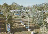 "<span class=""caption-caption"">""Dawson Valley"" Caravan Park, Moura</span>, c1970-2000. <br />Postcard, collection of <span class=""caption-contributor"">Murray Views Collection</span>."