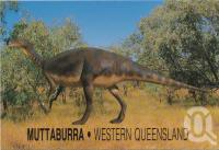 "<span class=""caption-caption"">Muttaburrasaurus Langdoni, Muttaburra</span>, c1970-2000. <br />Postcard, collection of <span class=""caption-contributor"">Murray Views Collection</span>."