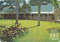 "<span class=""caption-caption"">Wolston House, Wacol, a Property of the National Trust of Queensland, built in 1852 for Dr Stephen Simpson, this farmhouse is set in attractive countryside on the outskirts of Brisbane</span>, c1970-2000. <br />Postcard, collection of <span class=""caption-contributor"">Murray Views Collection</span>."