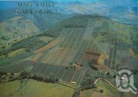 """<span class=""""caption-caption"""">Mary Valley, pineapple farms on the steep volcanic slopes at Dagun</span>, c1986. <br />Postcard by <span class=""""caption-publisher"""">Murray Views Pty Ltd</span>, collection of <span class=""""caption-contributor"""">Centre for the Government of Queensland</span>."""