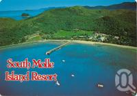 """<span class=""""caption-caption"""">South Molle Island Resort, photograph by Rod Murray</span>, 1986. <br />Postcard by <span class=""""caption-publisher"""">Murray Views Pty Ltd</span>, collection of <span class=""""caption-contributor"""">Centre for the Government of Queensland</span>."""