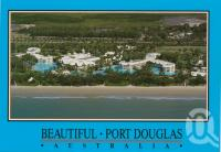 "<span class=""caption-caption"">Aerial view showing the Sheraton Mirage on Four Mile Beach, Port Douglas</span>, c1990. <br />Postcard by <span class=""caption-publisher"">Murray Views Pty Ltd</span>, collection of <span class=""caption-contributor"">Centre for the Government of Queensland</span>."