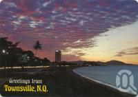 """<span class=""""caption-caption"""">Evening lights, The Strand, Townsville</span>, c1976. <br />Postcard by <span class=""""caption-publisher"""">Murray Views Pty Ltd</span>, collection of <span class=""""caption-contributor"""">Centre for the Government of Queensland</span>."""