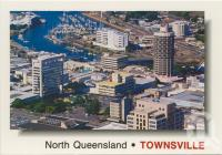 """<span class=""""caption-caption"""">Overlooking the city from Castle Hill, Townsville</span>, 2000. <br />Postcard by <span class=""""caption-publisher"""">Murray Views Pty Ltd</span>, collection of <span class=""""caption-contributor"""">Centre for the Government of Queensland</span>."""