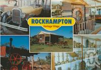 """<span class=""""caption-caption"""">Rockhampton Heritage Village, 20 km north of Rockhampton</span>, c1984. <br />Postcard by <span class=""""caption-publisher"""">Murray Views Pty Ltd</span>, collection of <span class=""""caption-contributor"""">Centre for the Government of Queensland</span>."""