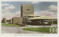 """<span class=""""caption-caption"""">Nestle's milk processing factory Gympie</span>, 1960. <br />Postcard by <span class=""""caption-publisher"""">Murray Views Pty Ltd</span>, collection of <span class=""""caption-contributor"""">Centre for the Government of Queensland</span>."""