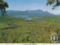 """<span class=""""caption-caption"""">Hinchinbrook Channel</span>, c1966. <br />Postcard folder by <span class=""""caption-publisher"""">GK Bolton</span>, collection of <span class=""""caption-contributor"""">Centre for the Government of Queensland MS</span>."""