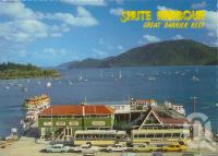 """<span class=""""caption-caption"""">Shute Harbour Great Barrier reef</span>, c1964. <br />Postcard by <span class=""""caption-publisher"""">Nu-Color-Vue</span>, collection of <span class=""""caption-contributor"""">Centre for the Government of Queensland</span>."""