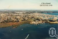 "<span class=""caption-caption"">Cleveland</span>, 1999. <br />Postcard by <span class=""caption-publisher"">South Pacific</span>, collection of <span class=""caption-contributor"">Centre for the Government of Queensland</span>."