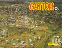 "<span class=""caption-caption"">Aerial view, Gatton</span>, c1980. <br />Postcard folder by <span class=""caption-publisher"">Murray Views Pty Ltd</span>, collection of <span class=""caption-contributor"">Centre for the Government of Queensland</span>."