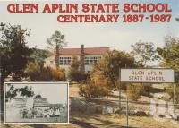"""<span class=""""caption-caption"""">Glen Aplin State School</span>, 1987. <br />Postcard by <span class=""""caption-publisher"""">ICP</span>, collection of <span class=""""caption-contributor"""">Centre for the Government of Queensland</span>."""
