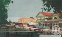 "<span class=""caption-caption"">Shopping centre, Scarness</span>, 1963. <br />Postcard folder by <span class=""caption-publisher"">Viewpoint Productions</span>, collection of <span class=""caption-contributor"">Centre for the Government of Queensland</span>."