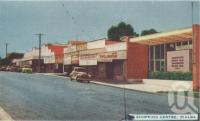 """<span class=""""caption-caption"""">Shopping centre, Pialba</span>, 1963. <br />Postcard folder by <span class=""""caption-publisher"""">Viewpoint Productions</span>, collection of <span class=""""caption-contributor"""">Centre for the Government of Queensland</span>."""