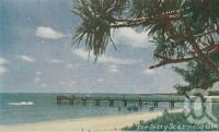 "<span class=""caption-caption"">The jetty, Scarness</span>, 1963. <br />Postcard folder by <span class=""caption-publisher"">Viewpoint Productions</span>, collection of <span class=""caption-contributor"">Centre for the Government of Queensland</span>."
