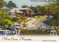 """<span class=""""caption-caption"""">Main street, Montville</span>, 2001. <br />Postcard by <span class=""""caption-publisher"""">Wren</span>, collection of <span class=""""caption-contributor"""">Centre for the Government of Queensland</span>."""