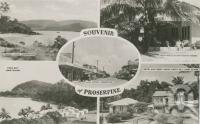 """<span class=""""caption-caption"""">Souvenir of Proserpine</span>, c1950. <br />Postcard by <span class=""""caption-publisher"""">Murray Views Pty Ltd</span>, collection of <span class=""""caption-contributor"""">Centre for the Government of Queensland</span>."""