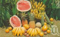 "<span class=""caption-caption"">Some Queensland tropical fruits</span>, c1979. <br />Postcard by <span class=""caption-publisher"">Bernard Kuskopf</span>, collection of <span class=""caption-contributor"">Centre for the Government of Queensland</span>."