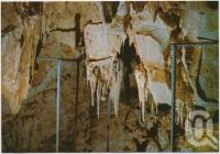 """<span class=""""caption-caption"""">The Chandelier in Cammoo Caves</span>, c1970-2000. <br />Postcard, collection of <span class=""""caption-contributor"""">Murray Views Collection</span>."""