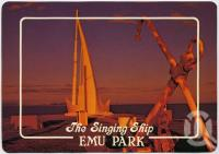 """<span class=""""caption-caption"""">The Singing Ship, Emu Park</span>, c1970-2000. <br />Postcard, collection of <span class=""""caption-contributor"""">Murray Views Collection</span>."""