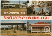 "<span class=""caption-caption"">School Centenary, Wallumbilla</span>, c1970-2000. <br />Postcard, collection of <span class=""caption-contributor"">Murray Views Collection</span>."