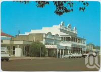 "<span class=""caption-caption"">McKenzie Street, Wondai</span>, c1970-2000. <br />Postcard, collection of <span class=""caption-contributor"">Murray Views Collection</span>."