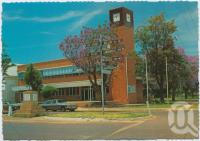 """<span class=""""caption-caption"""">The Council Chambers, St George</span>, c1970-2000. <br />Postcard, collection of <span class=""""caption-contributor"""">Murray Views Collection</span>."""