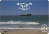 "<span class=""caption-caption"">Old Woman Island, Mudjimba Beach</span>, c1970-2000. <br />Postcard, collection of <span class=""caption-contributor"">Murray Views Collection</span>."