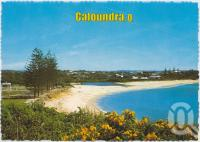"<span class=""caption-caption"">Moffat Beach and Tooway Lagoon from ""Pa"" Bendall's Lookout on Queen of the Colonies Parade, Caloundra</span>, c1970-2000. <br />Postcard, collection of <span class=""caption-contributor"">Murray Views Collection</span>."