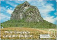 "<span class=""caption-caption"">Mount Tibrogargan (354 metres), Glass House Mountains</span>, c1970-2000. <br />Postcard, collection of <span class=""caption-contributor"">Murray Views Collection</span>."