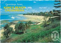 "<span class=""caption-caption"">Overlooking King's Beach from Wickham Point</span>, c1970-2000. <br />Postcard, collection of <span class=""caption-contributor"">Murray Views Collection</span>."