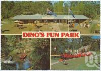 "<span class=""caption-caption"">Dinos Fun Park, Fun for everyone, Bruce Highway, Tanawha</span>, c1970-2000. <br />Postcard, collection of <span class=""caption-contributor"">Murray Views Collection</span>."