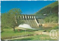 "<span class=""caption-caption"">Somerset Dam</span>, c1970-2000. <br />Postcard, collection of <span class=""caption-contributor"">Murray Views Collection</span>."