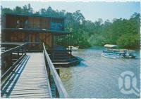 "<span class=""caption-caption"">The Tourist Information Centre at Lake Cootharaba, Elanda Point, Lake Cootharaba</span>, c1970-2000. <br />Postcard, collection of <span class=""caption-contributor"">Murray Views Collection</span>."