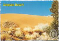 "<span class=""caption-caption"">Sandhill, typical of the Birdsville and Simpson Desert area</span>, c1970-2000. <br />Postcard, collection of <span class=""caption-contributor"">Murray Views Collection</span>."