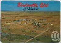 "<span class=""caption-caption"">Aerial view featuring the Diamantina River, Birdsville</span>, c1970-2000. <br />Postcard, collection of <span class=""caption-contributor"">Murray Views Collection</span>."