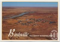 "<span class=""caption-caption"">Aerial view, Birdsville</span>, c1970-2000. <br />Postcard, collection of <span class=""caption-contributor"">Murray Views Collection</span>."