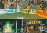 "<span class=""caption-caption"">Whitsunday Wonderworld, The Toad Races, Airlie Beach</span>, c1970-2000. <br />Postcard, collection of <span class=""caption-contributor"">Murray Views Collection</span>."