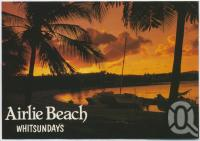 "<span class=""caption-caption"">Sunset, Airlie Beach</span>, c1970-2000. <br />Postcard, collection of <span class=""caption-contributor"">Murray Views Collection</span>."