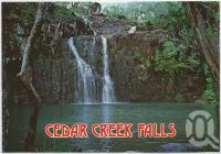 "<span class=""caption-caption"">Cedar Creek Falls, Conway National Park</span>, c1970-2000. <br />Postcard, collection of <span class=""caption-contributor"">Murray Views Collection</span>."