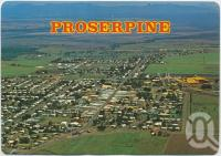 """<span class=""""caption-caption"""">Aerial view, Proserpine</span>, c1970-2000. <br />Postcard, collection of <span class=""""caption-contributor"""">Murray Views Collection</span>."""